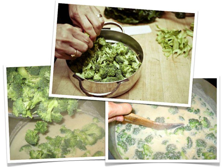 cream of broccoli soup - vegan | eat | Pinterest