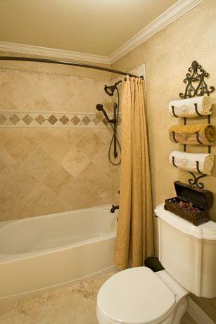 SMALL BATHROOM TOWEL STORAGE IDEAS Wine Towel Holder