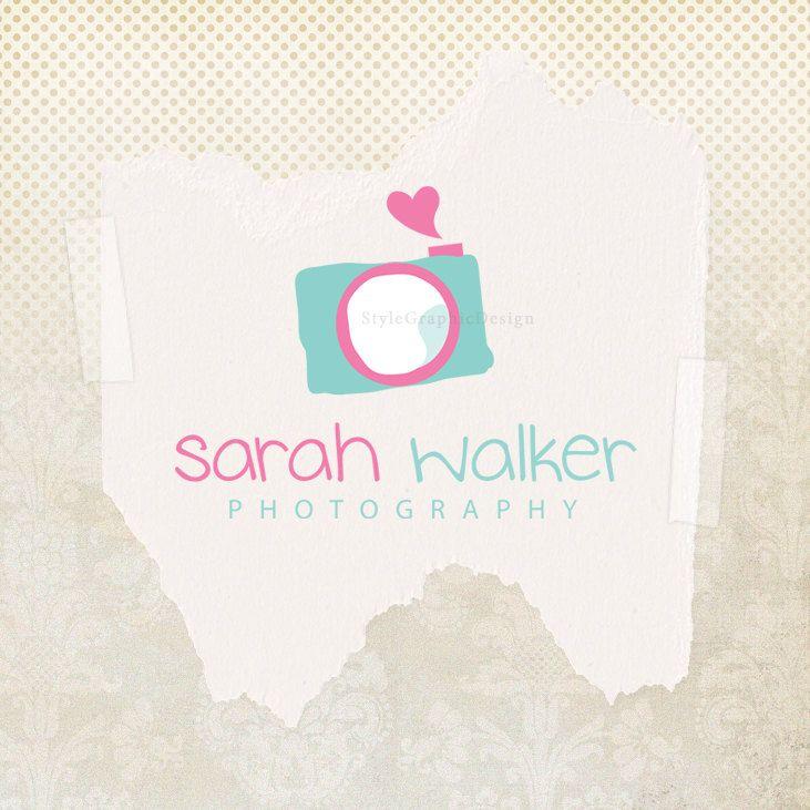 Premade photography logo design business logo cute premade ...