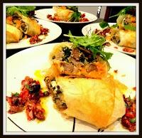 Lamb Exohiko (Lamb, Spinach And Cheese Stuffed Phyllo ...
