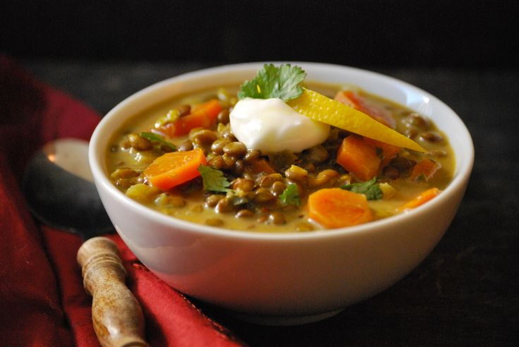 Lentil Soup with Lemongrass and Ginger | Sandwiches/Soups/Salads | Pi ...
