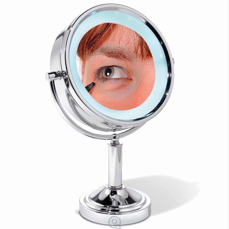 The 15x Magnifying Vanity Makeup Cosmetic Mirror Round
