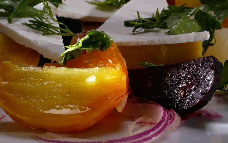 Roasted beet salad with citrus, fennel and ricotta salata | Recipe