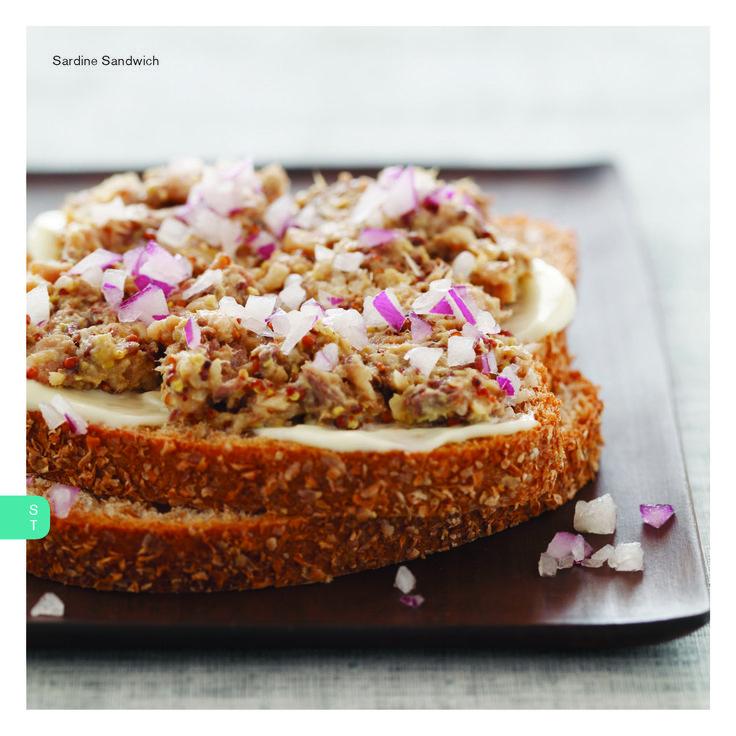 sardine sandwich | Sandwich ideas | Pinterest
