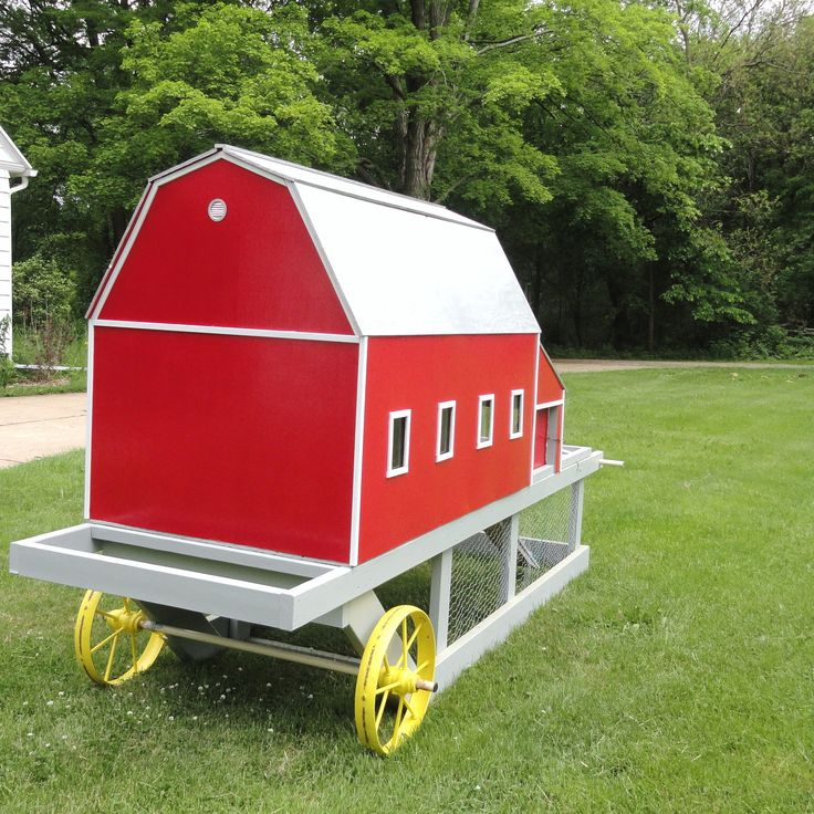 Hens plans guide chicken coop on wheels uk for Cheap chicken tractor