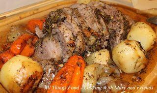 Basic Boneless Roasted Leg Of Lamb Recipe — Dishmaps