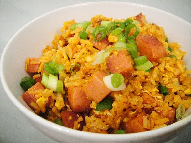 Sriracha and SPAM Fried Rice | Recipe