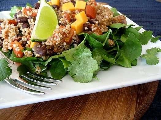 QUINOA TACO SALAD | food | Pinterest