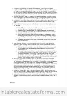 Real Estate Contract Form