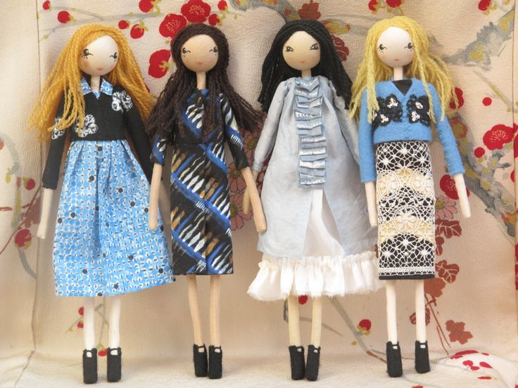 Ткань Куклы