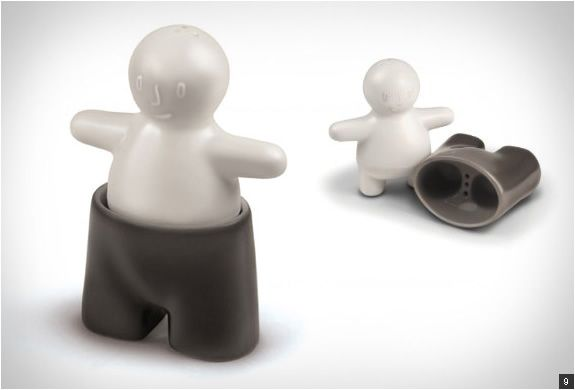 Cool Salt And Pepper Shakers Design Pinterest
