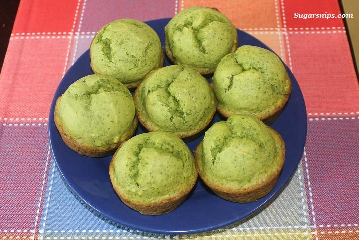 Spinach cake muffins. Delicious! (coming from me, that's saying ...