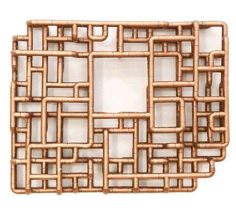 Copper Pipe Sculpture Estudio Materiales Pinterest