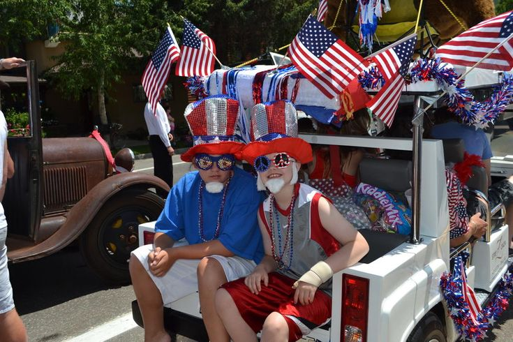 4th of july parade float decorating ideas