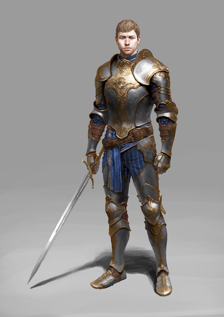 Fantasy light armor male