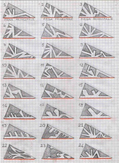 snowflake patterns | Art Projects: Paper | Pinterest