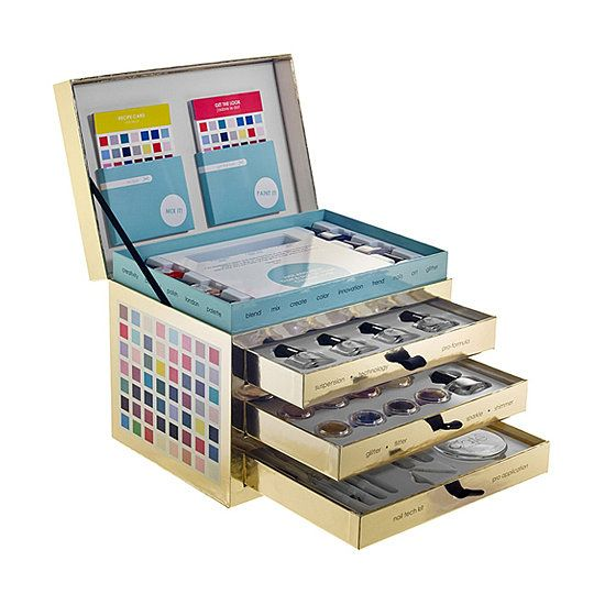 For the serious DIY nail-art lover, the Ciat Nail Lab ($65) comes with everythin