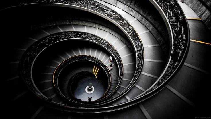 """""""Dark Sector"""" - Black Spiral Staircase"""