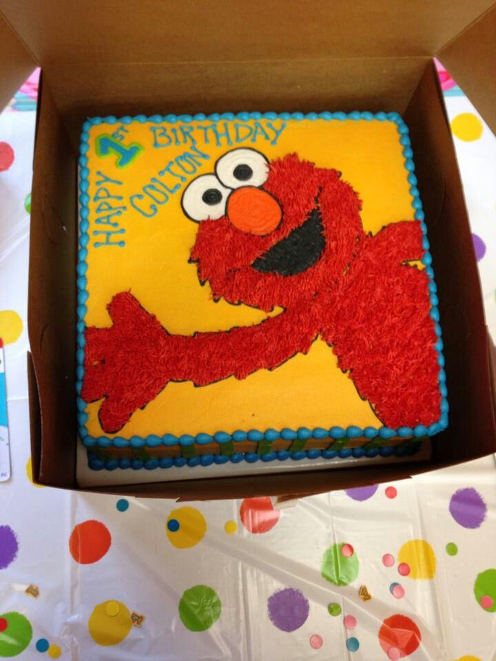 Elmo Birthday Cake Decorations : Elmo Birthday Cake Mikey s 1st Birthday!! Pinterest