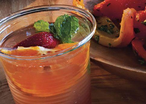 Viognier Fruit Spritzer | Recipe