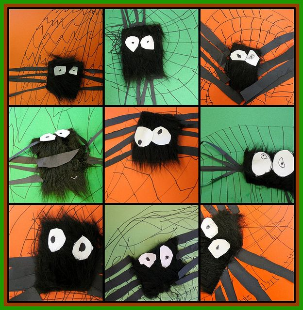 Fun fuzzy project.  Kinders will love this.