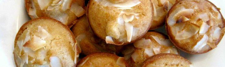 Gluten-free pineapple coconut muffins #muffins #glutenfree #breakfast