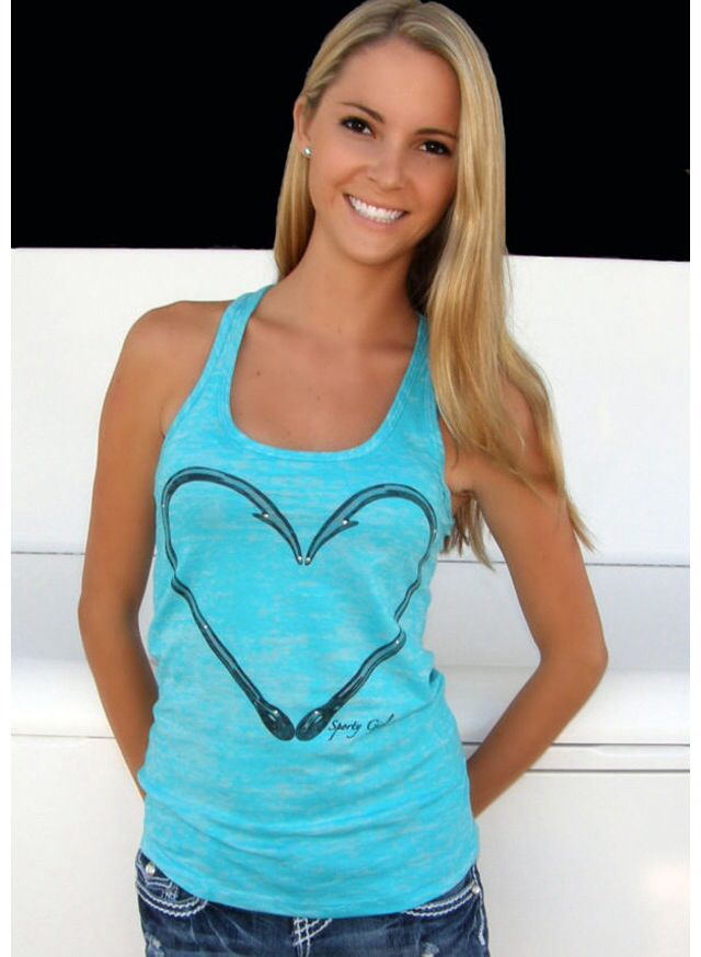 Country girl tank top country strong pinterest for Fishing tank top