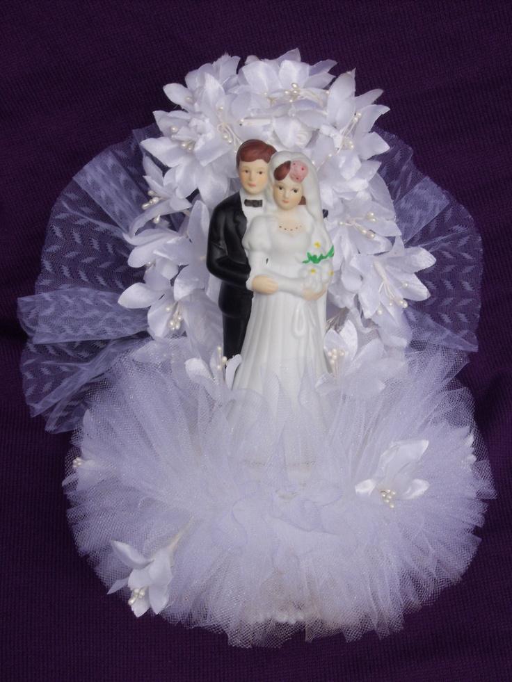 Cake topper vintage wedding