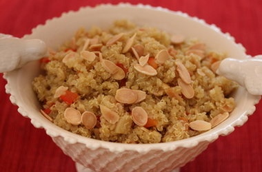 Quinoa with Almonds and Apricots | Breakfast | Pinterest