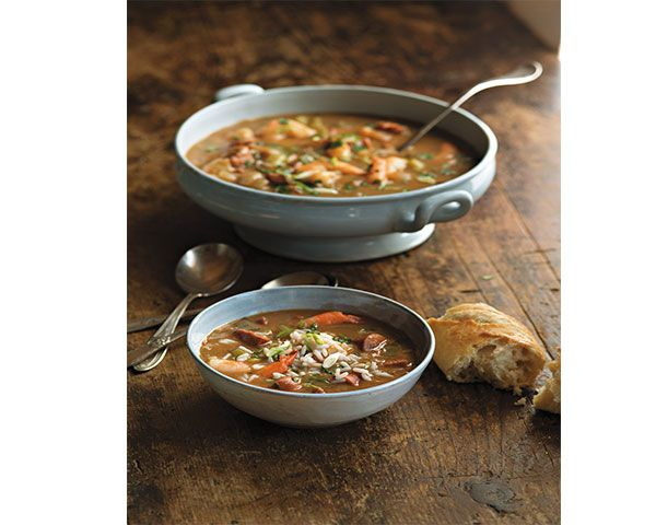 Seafood & Andouille Gumbo | Recipe
