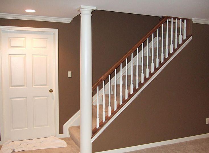 basement ideas open stairs no wall basement ideas pinterest