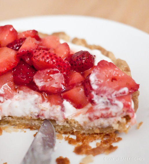 Fresh Strawberry Pie with Sweet Balsamic Reduction + Giveaway!