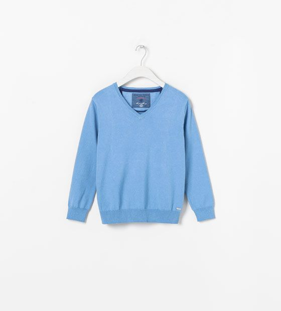 NECK SWEATER WITH ELBOW PATCHES   Kid Stuff   Pinterest