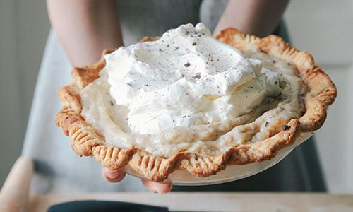 Chestnut cream pie | Pies | Pinterest