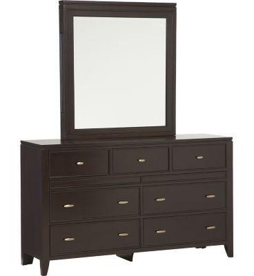 Bedrooms Midtown Dresser Mirror Bedrooms Havertys Furniture