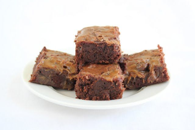 Sweet and Salty Brownies | Kirbie's Cravings | A San Diego food blog