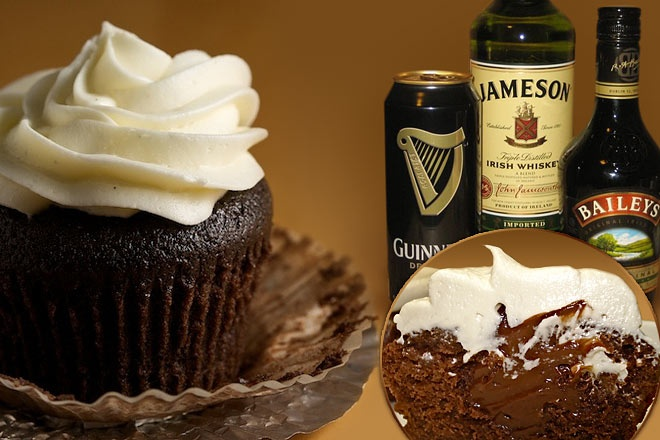 Chocolate Whiskey And Beer Cupcakes Recipes — Dishmaps
