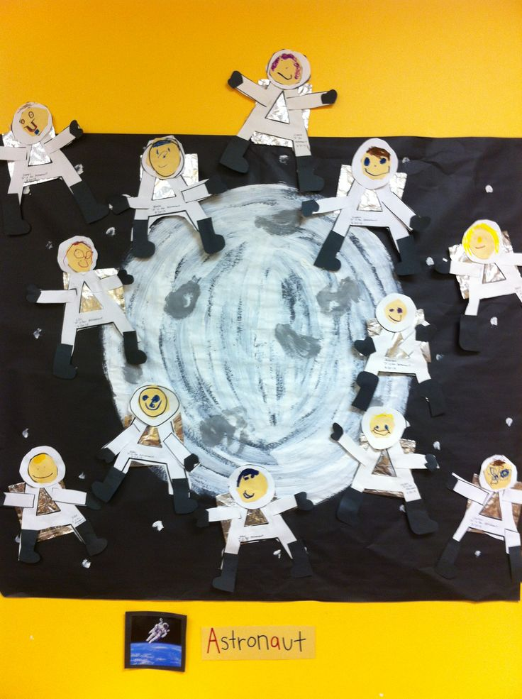 astronaut art project preschoolers - photo #39