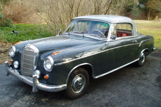 1959 mercedes benz 220s coupe wish list pinterest for Mercedes benz coupes list