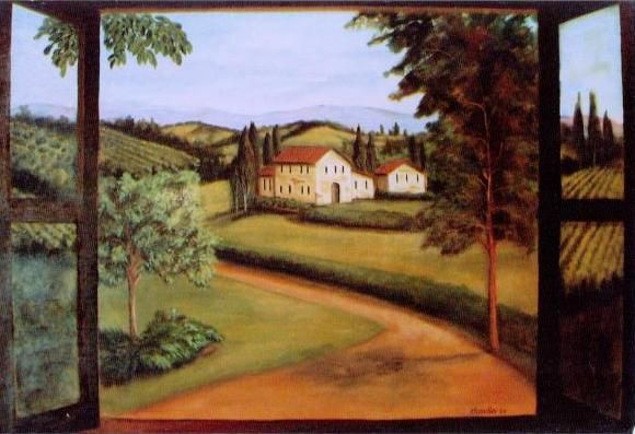 Download image Wall Murals Tuscan Scenes PC, Android, iPhone and iPad ...
