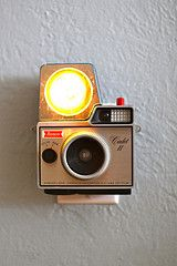 Converting vintage cameras into nightlights- LOVE