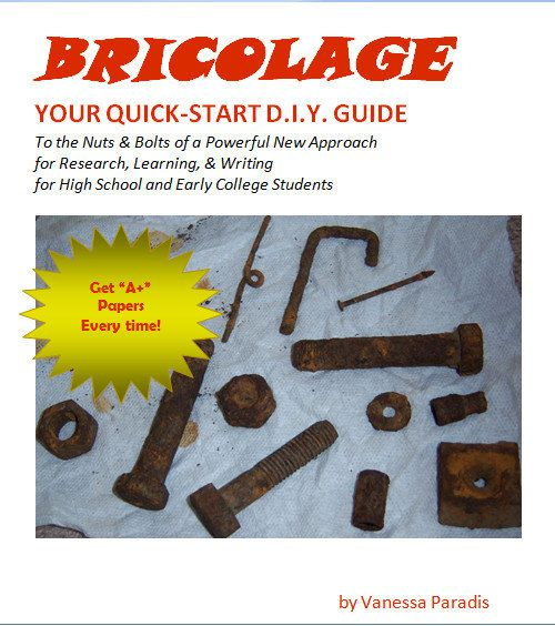 Writing Bricolage QuickStart D.I.Y. Guide High School by erosgifts, $ ...