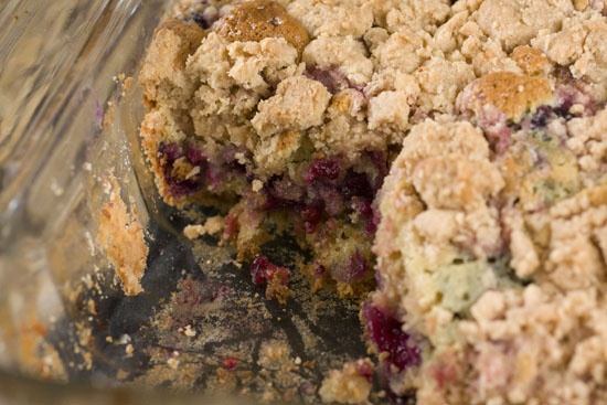 Blackberry Big Crumb Coffee Cake | Recipe
