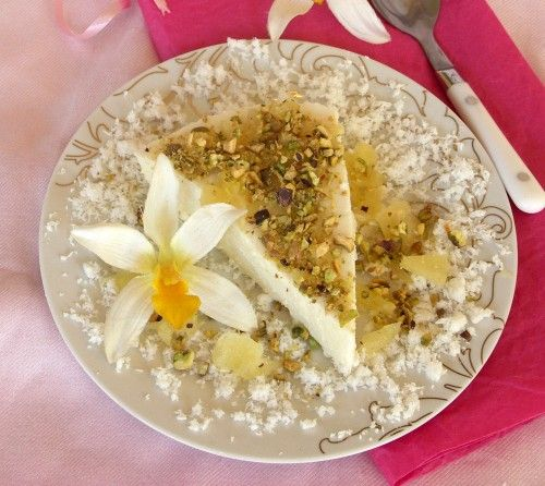 Pineapple Coconut Mousse with Pistachios | Have Mercy - FEED ME! | Pi ...