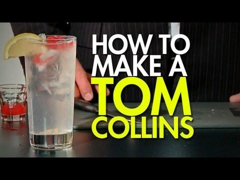 The Tom Collins Recipe   Drinks and more drinks!!!   Pinterest