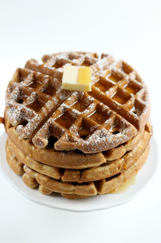 Gingerbread Waffles / Forkful of Awesome | Breakfast | Pinterest