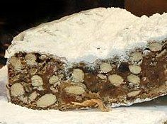 Panforte Di Siena from whatscookingamerica.net. alt - Panforte from ...