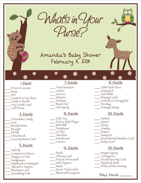 printable enchanted forest baby shower what 39 s in by bdesigns4you 8