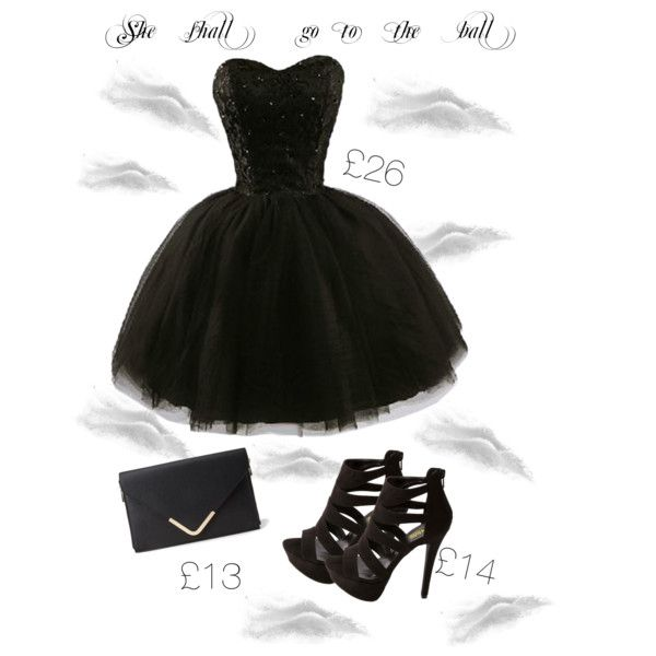 """She shall go to the ball"" by everythingrosy on Polyvore"