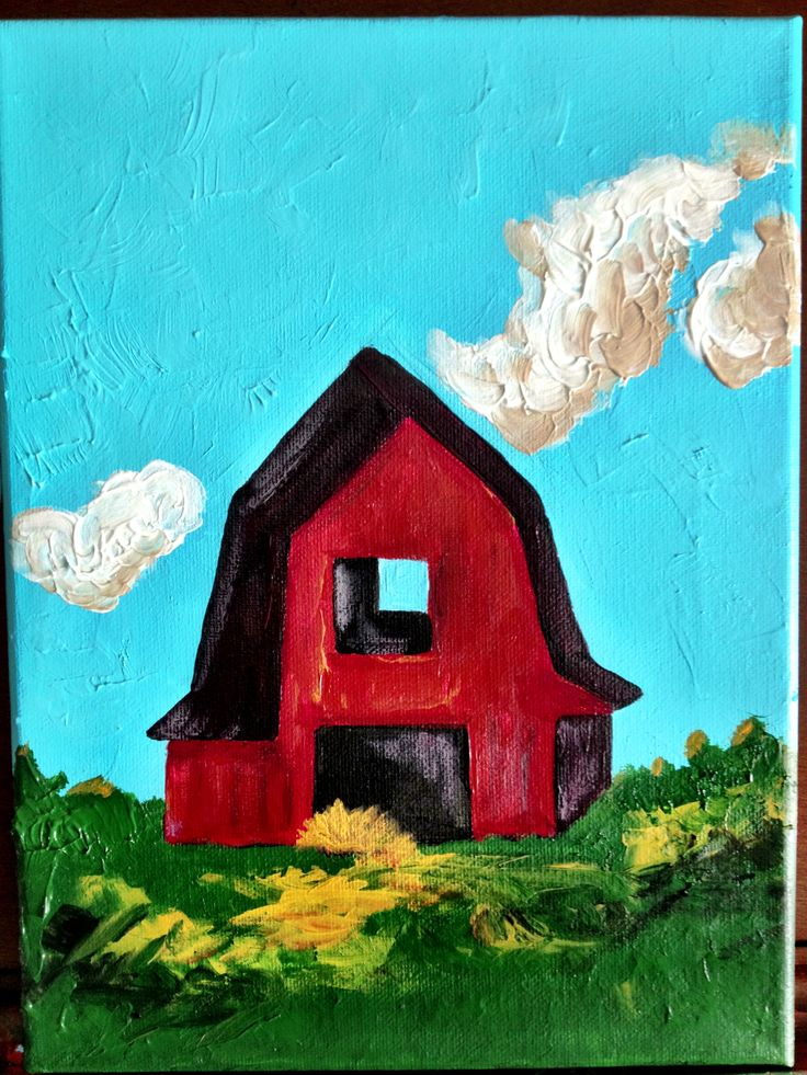 Barn painting paintings i want to try pinterest